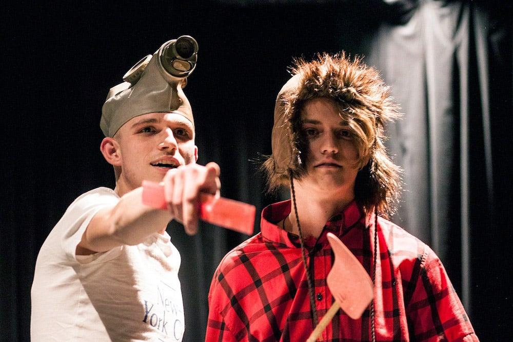 Improvizátori v Trnave na improlige